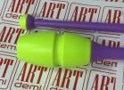 Булавы CHACOTT 301505-0003-88 41 см 377 СОСТАВ: пластик+каучук (желтый Х фиолетовый)  - www.artdemi.ru
